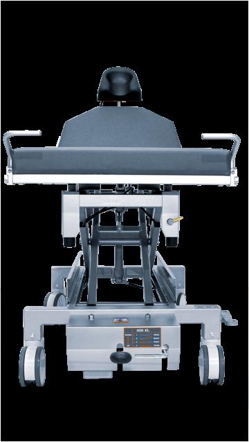 Frontansicht UFSK-OSYS Behandlungstisch 400 XL functionalClass