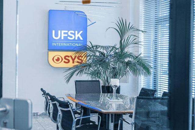 Besprechungsraum UFSK-International OSYS in Regensburg
