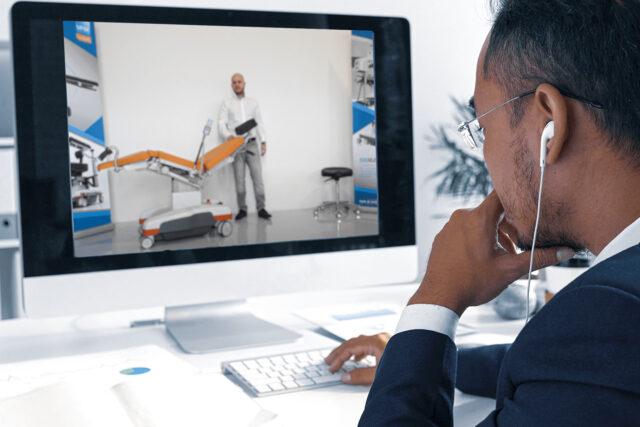 Device instruction via video transmission