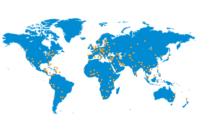 Vertriebs- und Servicenetz von UFSK-OSYS