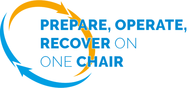Prepare, operate, recover on one chair